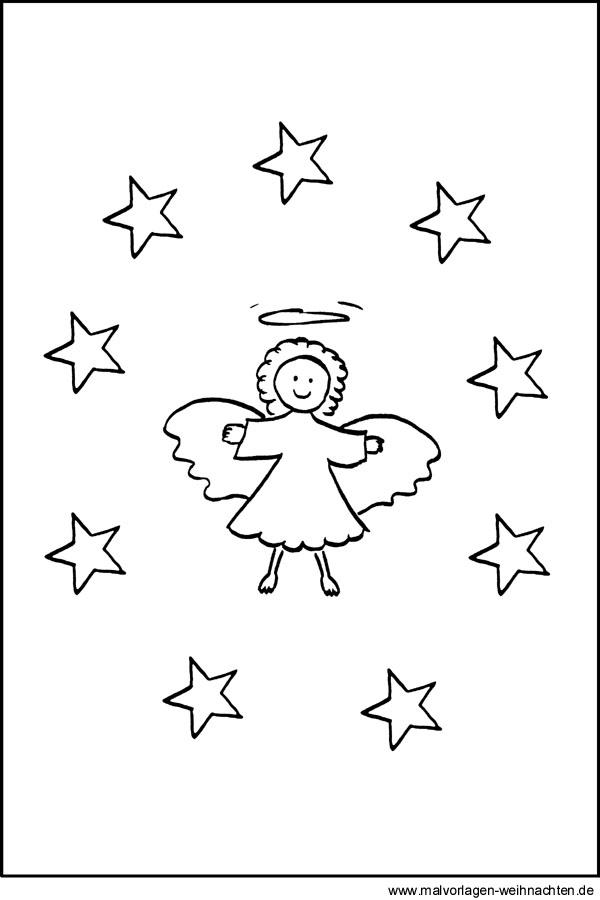 zeichnen vorlagen engel