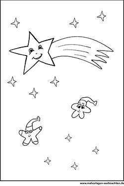 Malvorlagen Von Sternen Kostenlose Ausmalbilder Weihnachten