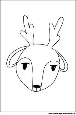 Malvorlagen Ausmalbilder Tiere Kostenlose Motive Zu Weihnachten