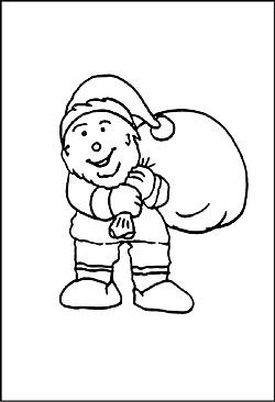 ausmalbilder zu weihnachten für kinder - kostenlose motive und bilder