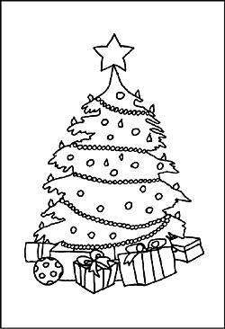 ausmalbilder tannenbaum zum ausdrucken