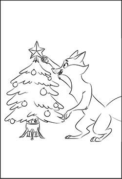 Malvorlagen Zu Weihnachten Weihnachtsbaum Kostenlose Motive Und