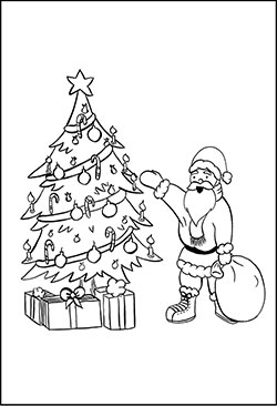 malvorlagen zu weihnachten weihnachtsbaum kostenlose motive und bilder f r kinder. Black Bedroom Furniture Sets. Home Design Ideas