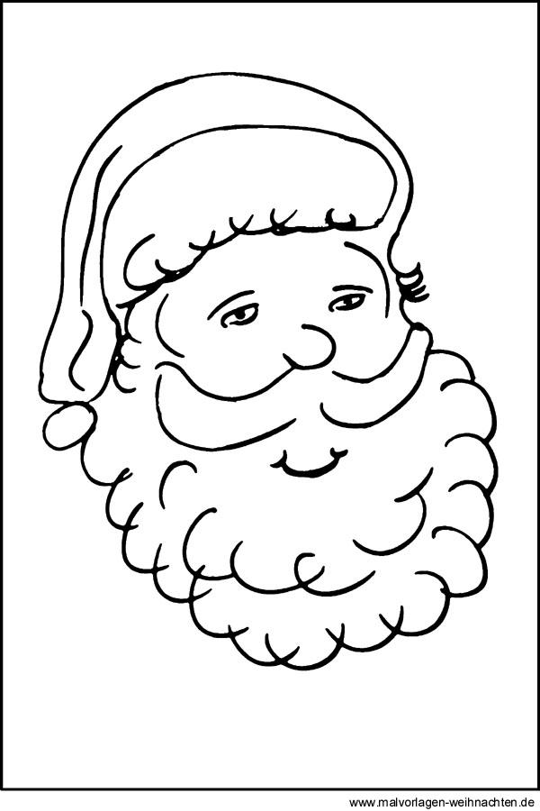 Malvorlage Nikolaus - Tolle gratis Motive zu Weihnachten