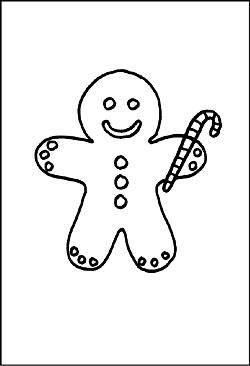 zuckerstangen als malvorlagen - ausmalbilder zu weihnachten